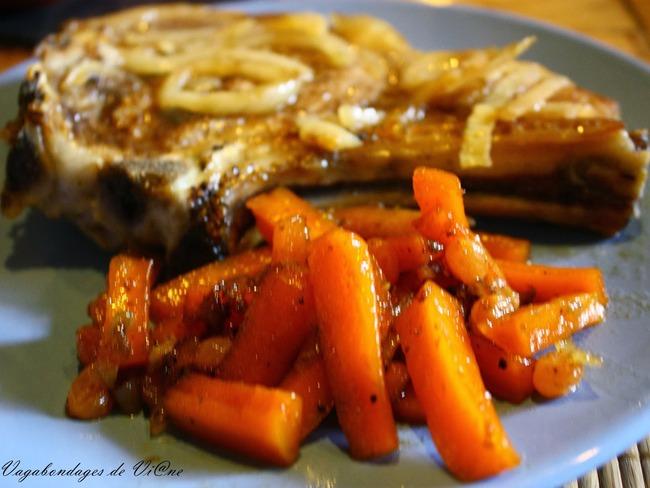 Côtes de veau à l'orange