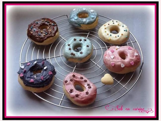 Donuts glaçage chocolat