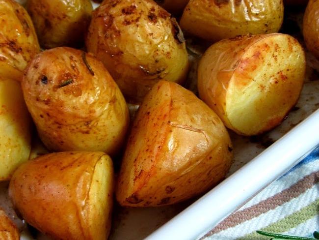 Pommes de terre nouvelles au romarin