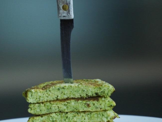 Galettes aux brocolis