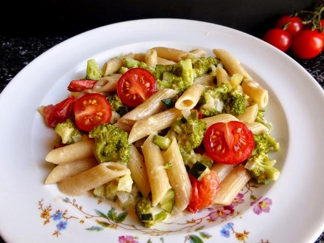 Penne aux légumes
