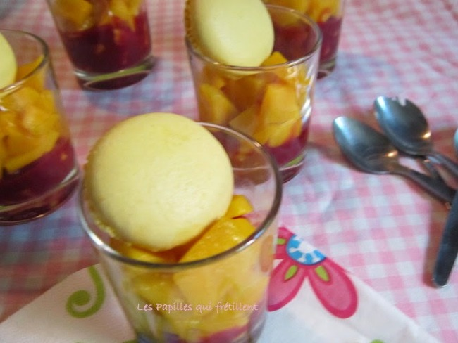 Fraîcheur mangue framboise