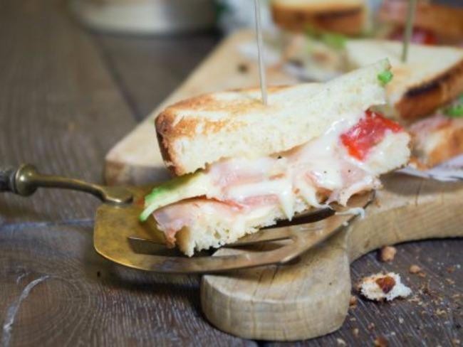 Club Sandwich époisses et bacon