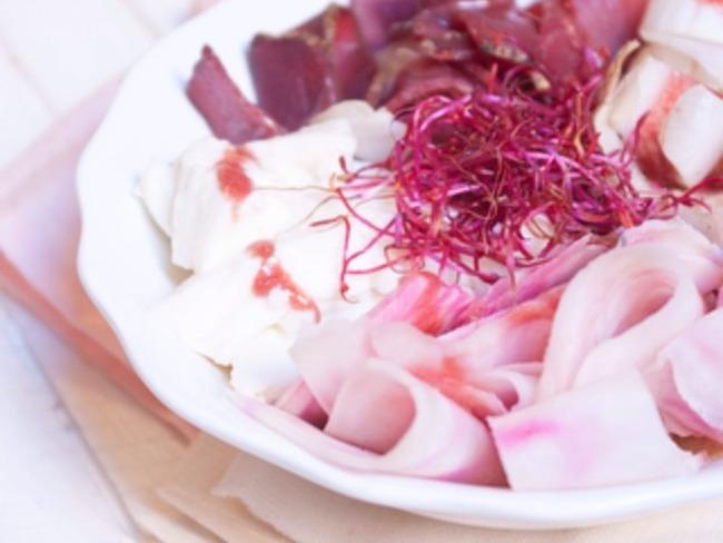 Salade rose