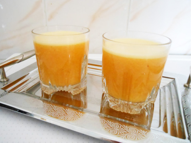 Smoothie banane orange