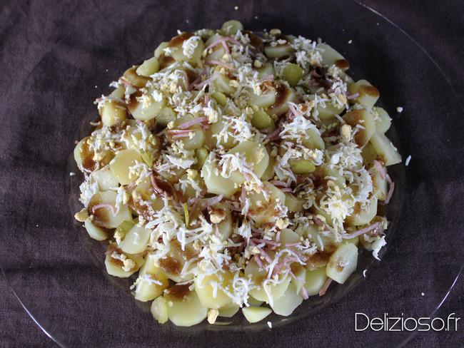 Salade de pomme de terre mimosa