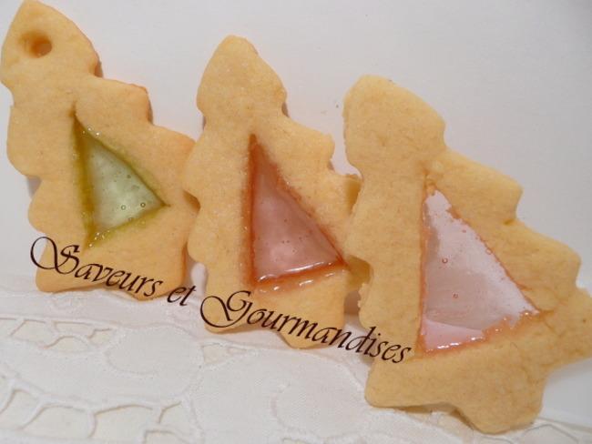 Biscuits vitrés.