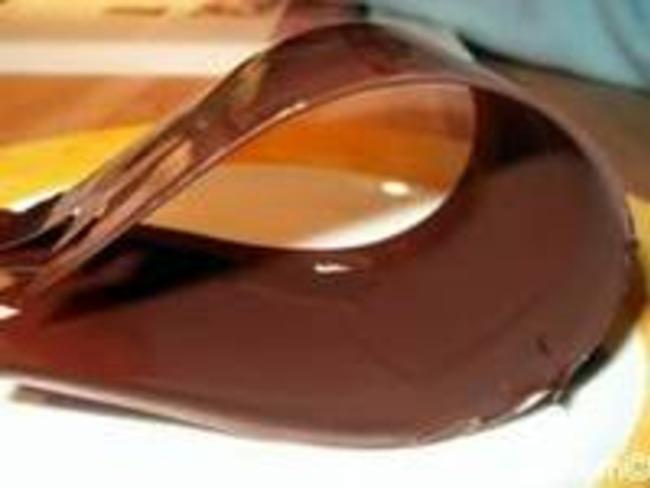Rubans en chocolat
