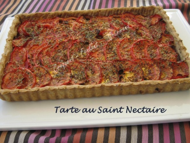Tarte au Saint-Nectaire