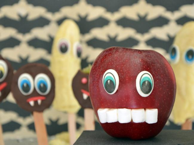 Les monstres fruités d'Halloween