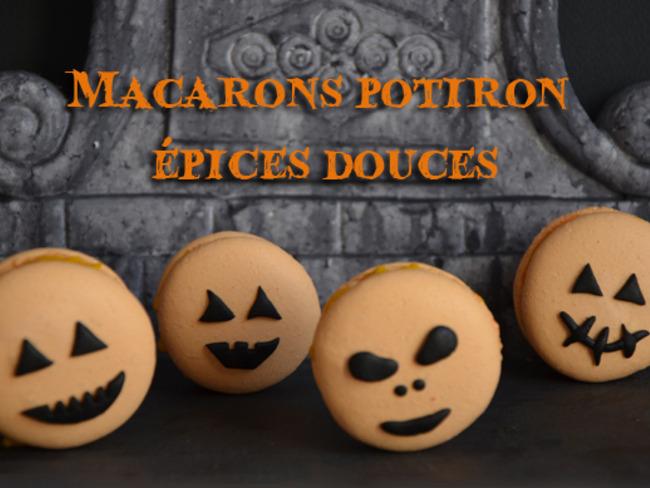 Macarons crème de potiron et épices douces