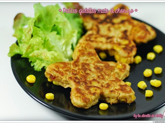 Galette maïs et chorizo