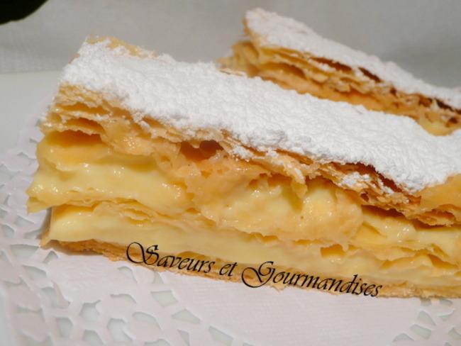 Mille-feuilles, Crème Vanille