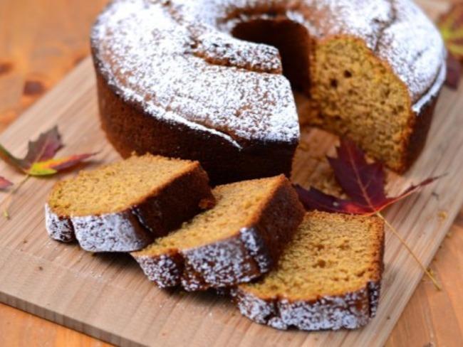 Gâteau à la courge et aux épices