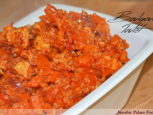Boulgour aux légumes et au poulet