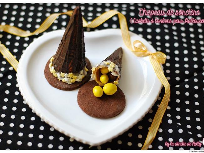 Chapeau de sorcière au chocolat