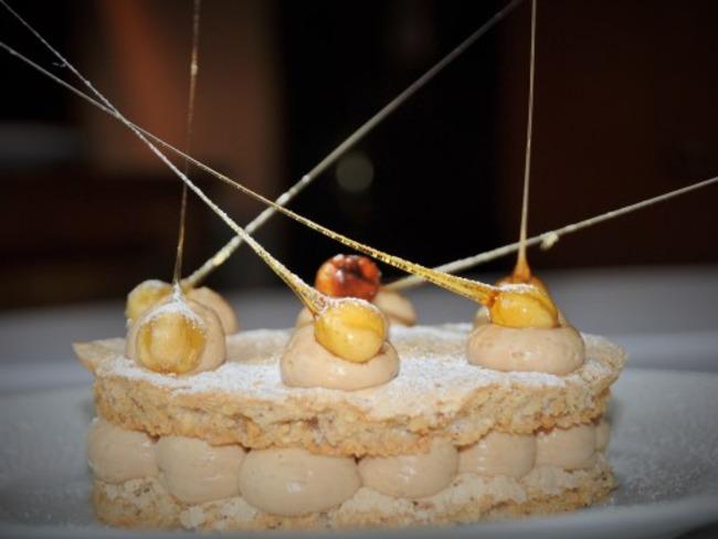 Le Succès, Crème Mousseline praliné