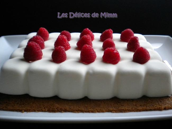 Cheesecake au Limoncello et framboises