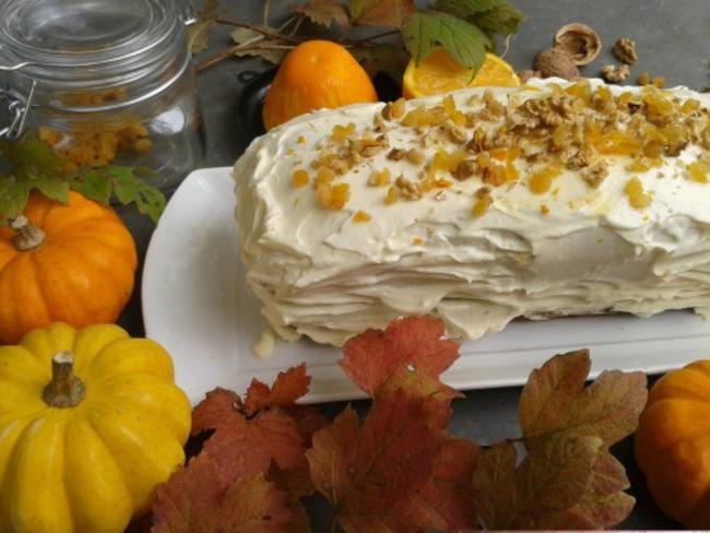 Cake potimaron carotte
