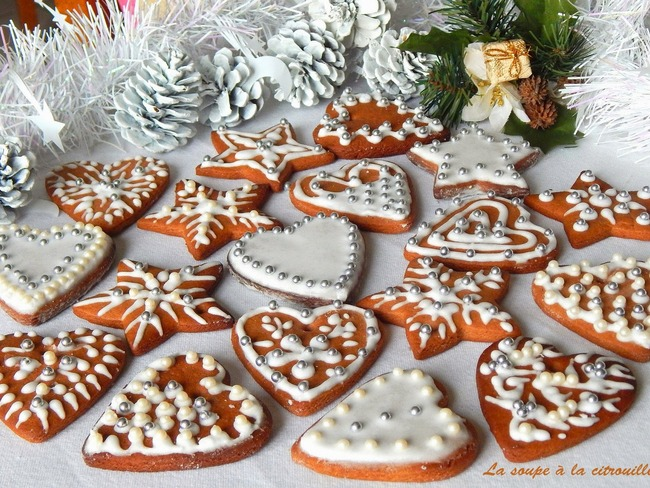 Biscuits de noël en pain d'épices