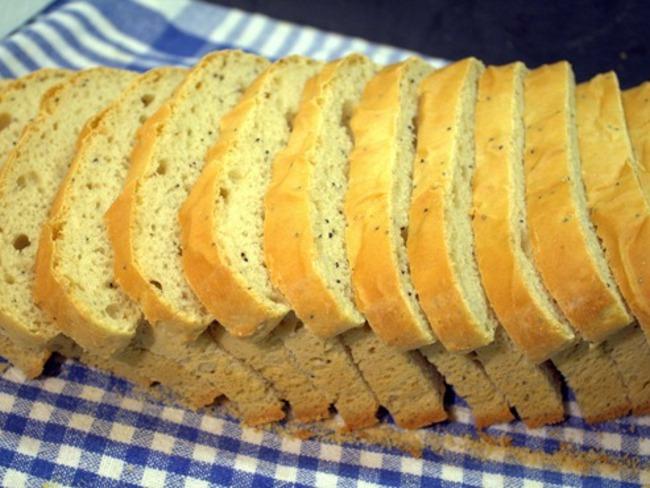 pain blanc de mie aux grains de pavot