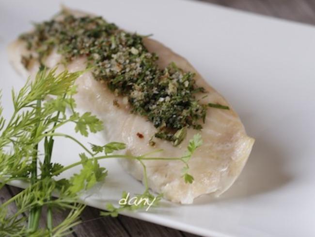 Saumon sauvage mi-cuit à la fleur de sel herbes et épices