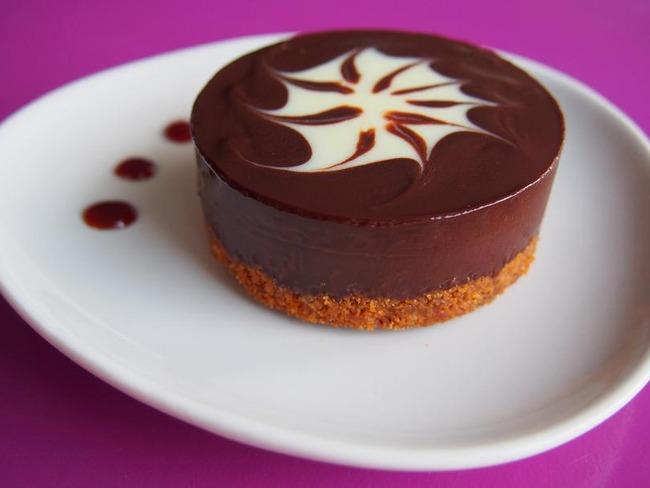 Tartelette chocolat noir spéculoos