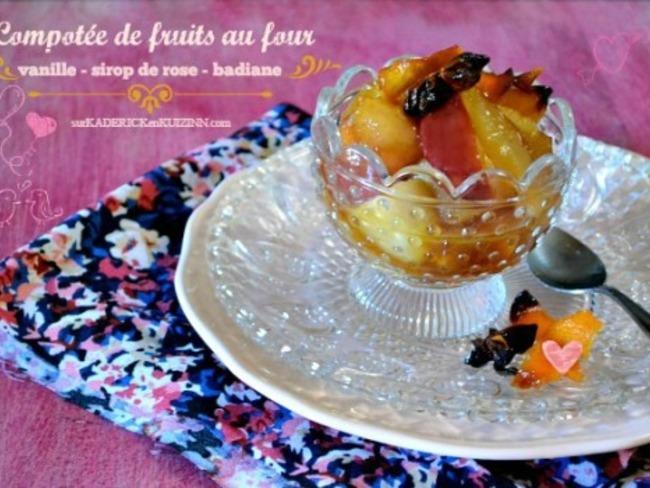 Compotée de fruits au four de Jamie Oliver