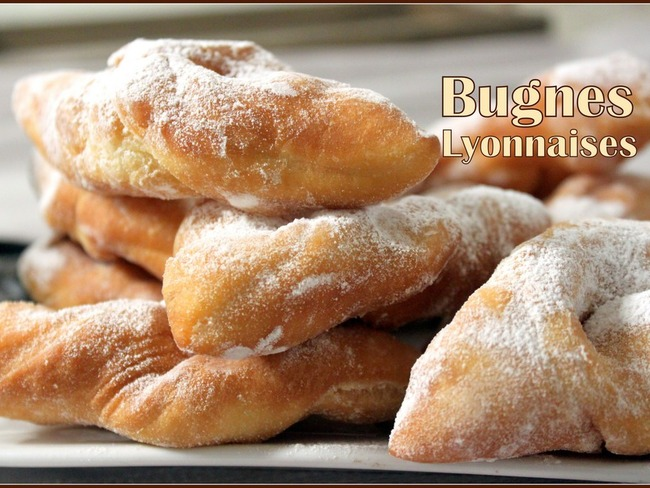 Bugnes de Lyon moelleuses