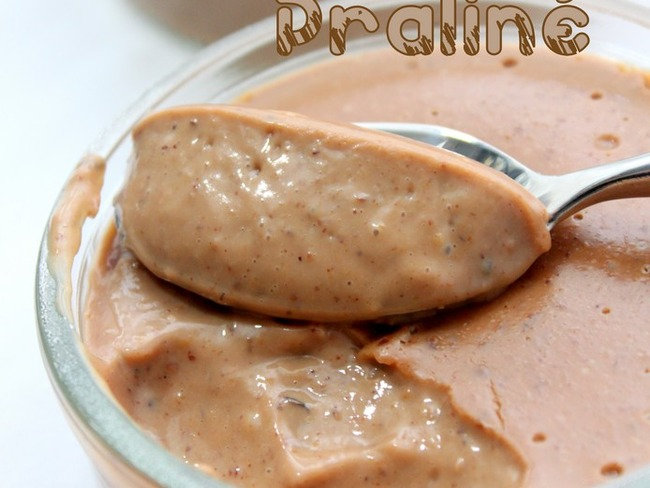 Crème dessert mascarpone et praliné facile