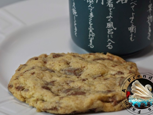 Cookies vanille aux pépites de chocolat au lait