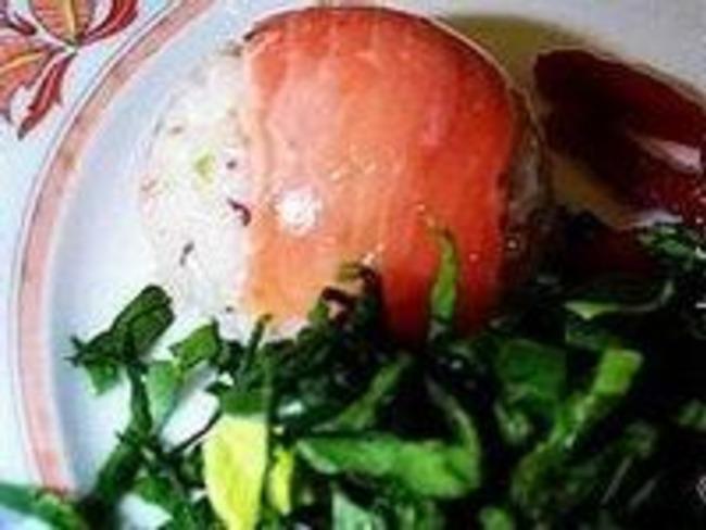 Sushis moulés