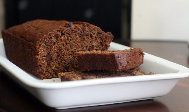 Cake chocolat et banane