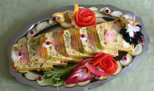 Pain de saumon basilic