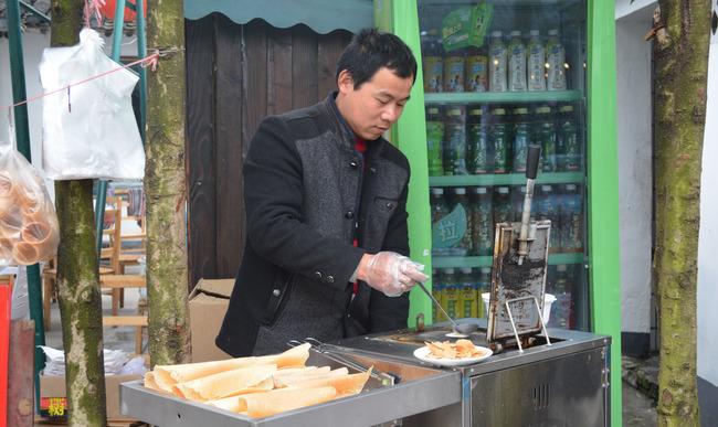 Street food à Shanghai