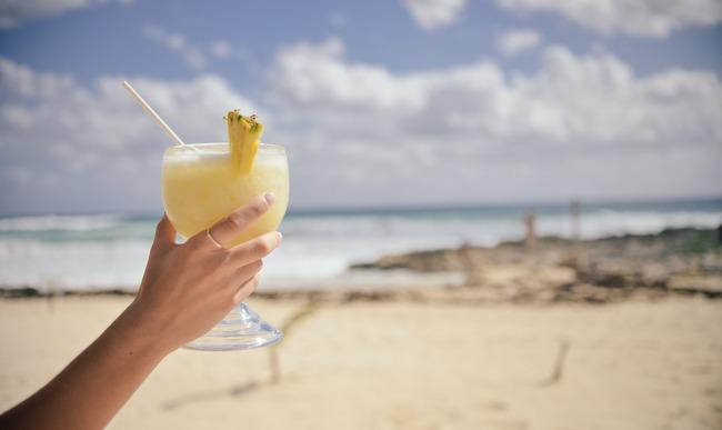 Verre de cocktail piña colada