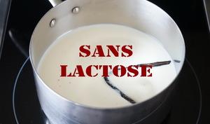 Casserole de lait vanillé