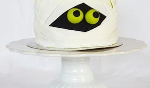 Cake momie pour fêter halloween