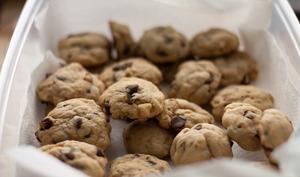 Cookies dans une boite