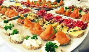 Plateaux de toasts