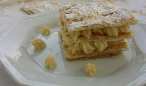 Mille feuille crème chiboust