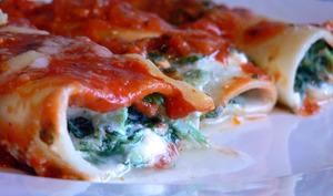 Cannelloni aux épinards et ricotta
