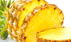 Ananas découpé