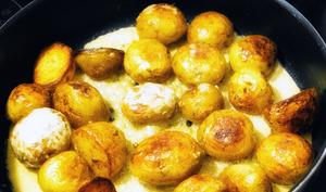 Pommes de terre primeur sautées