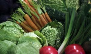 Assortiment de légumes frais