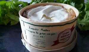 Vacherin Mont D'Or et salade