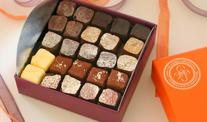 Bonbons dans une boîte.