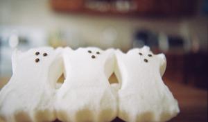 3 fantômes sucrés pour halloween