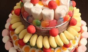 Gâteaux aux gourmandises