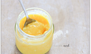 Pot de lemon curd
